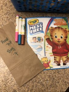 Road Trip Goodie Bag Ideas For Toddlers and Kids