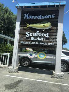 Harrelsons Seafood Market In Murrels Inlet