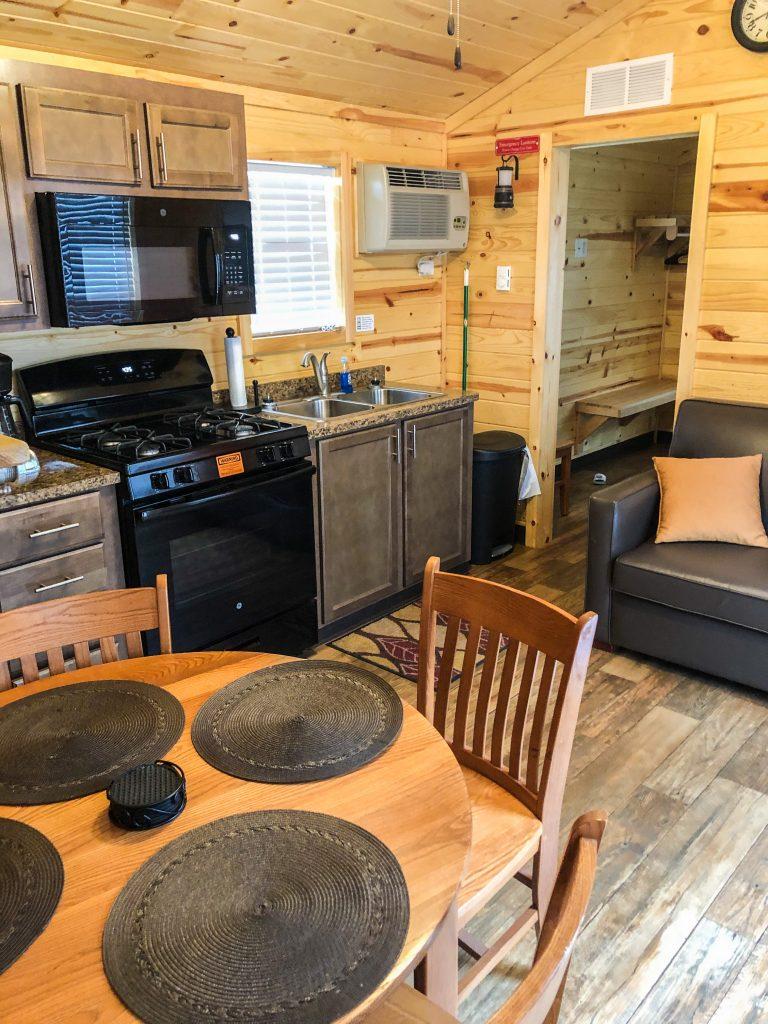 Inside of premium cabin (2 bedroom)