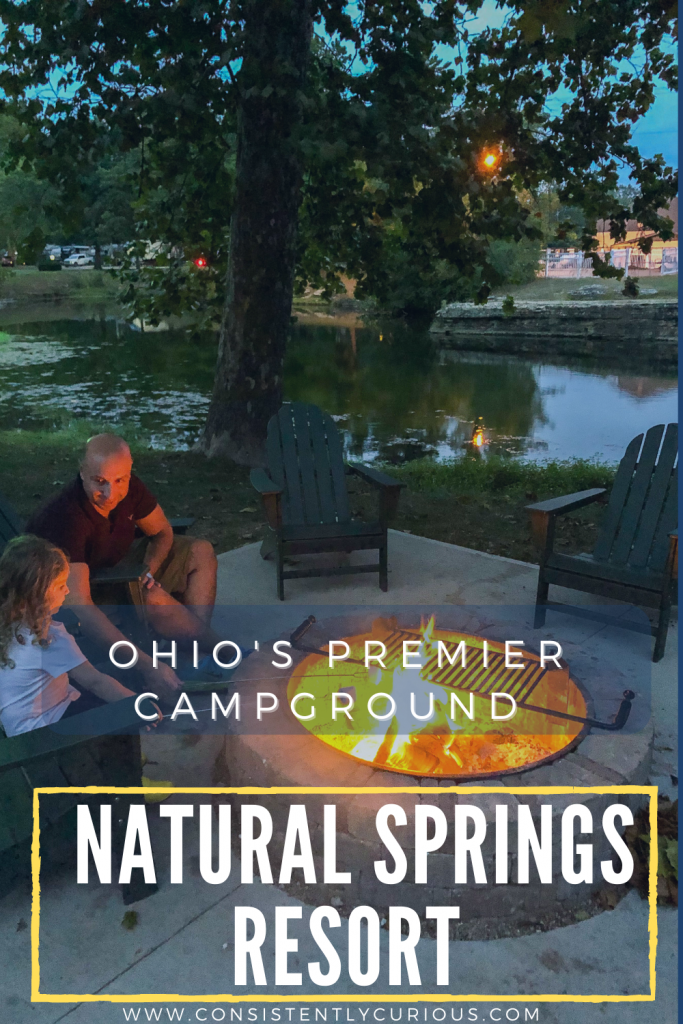 Ohio Premier campground: Natural Springs Resort in new paris ohio