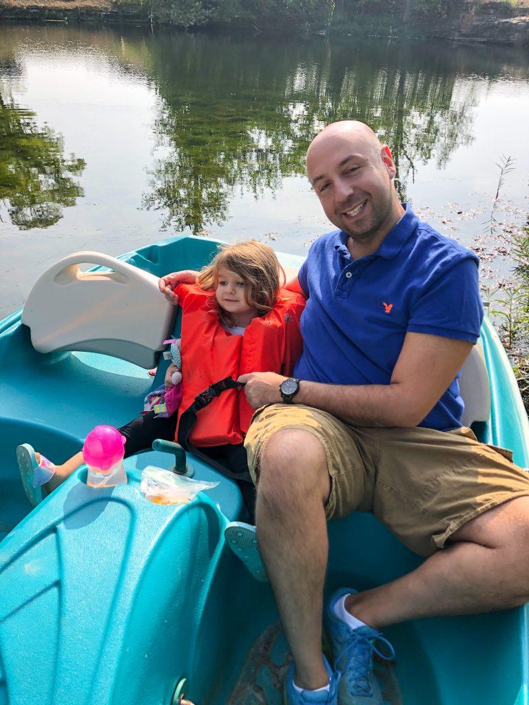 boat rental at Natural Springs Resort In New Paris Ohio