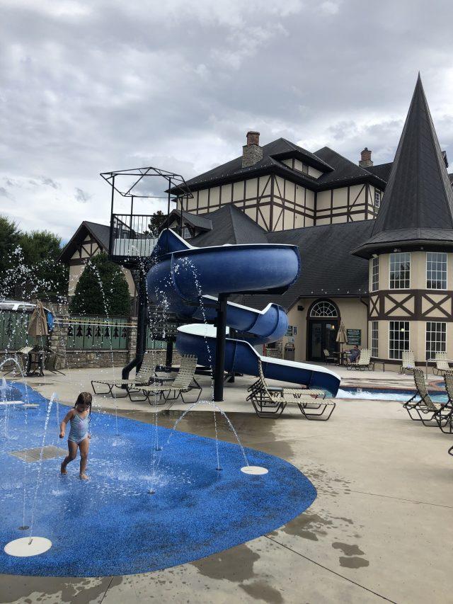 Splash Pad at The Inn At Christmas Place