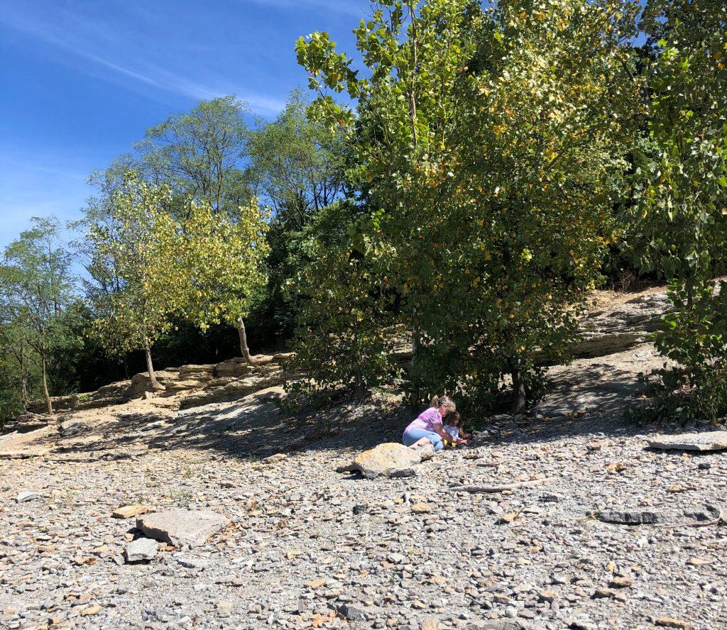 Trammel Fossil Park In Cincinnati Ohio