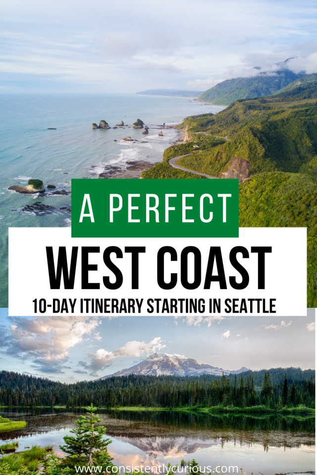 10 day west coast itinerary