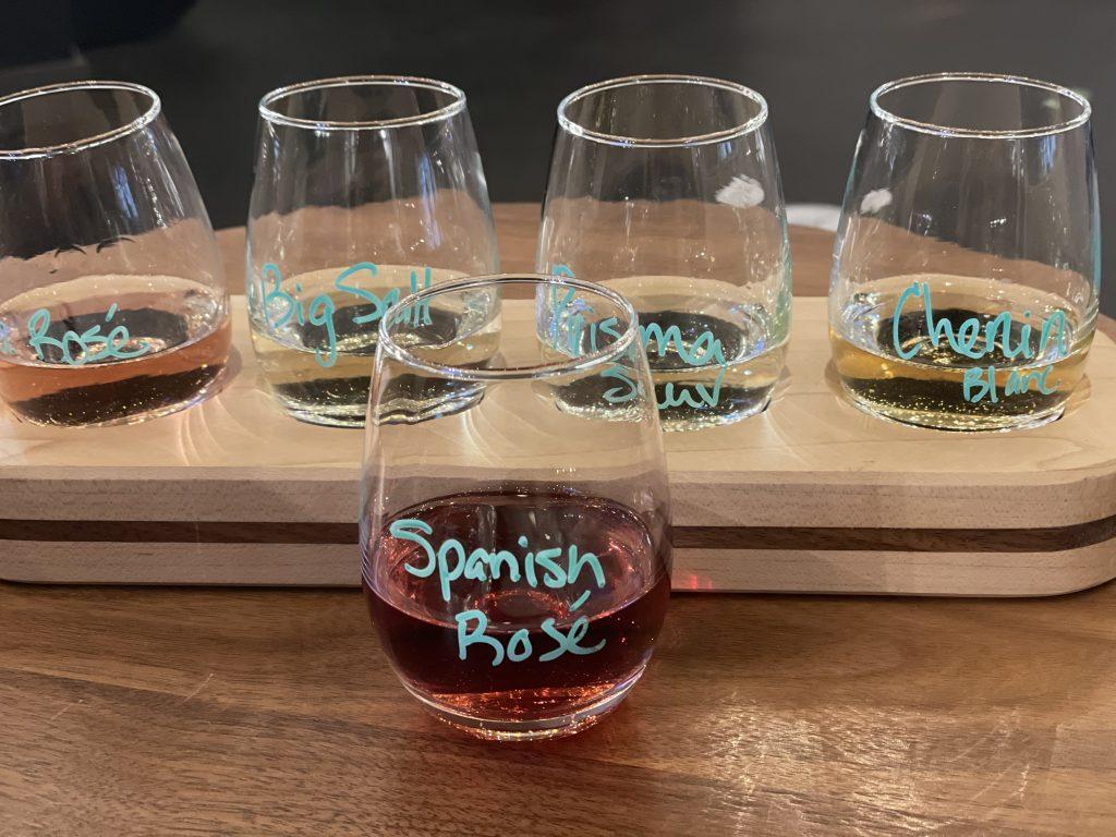 Wine Tasting at Cork + Board in Springfield Ohio