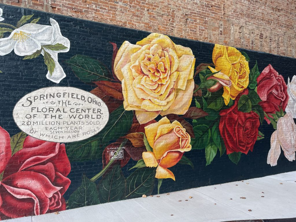 Murals of Downtown Springfield Ohio