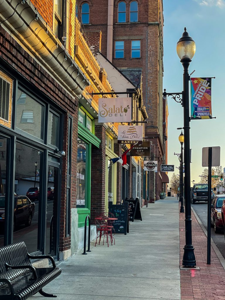 Things to do on a getaway to springfield ohio: Downtown Springfield
