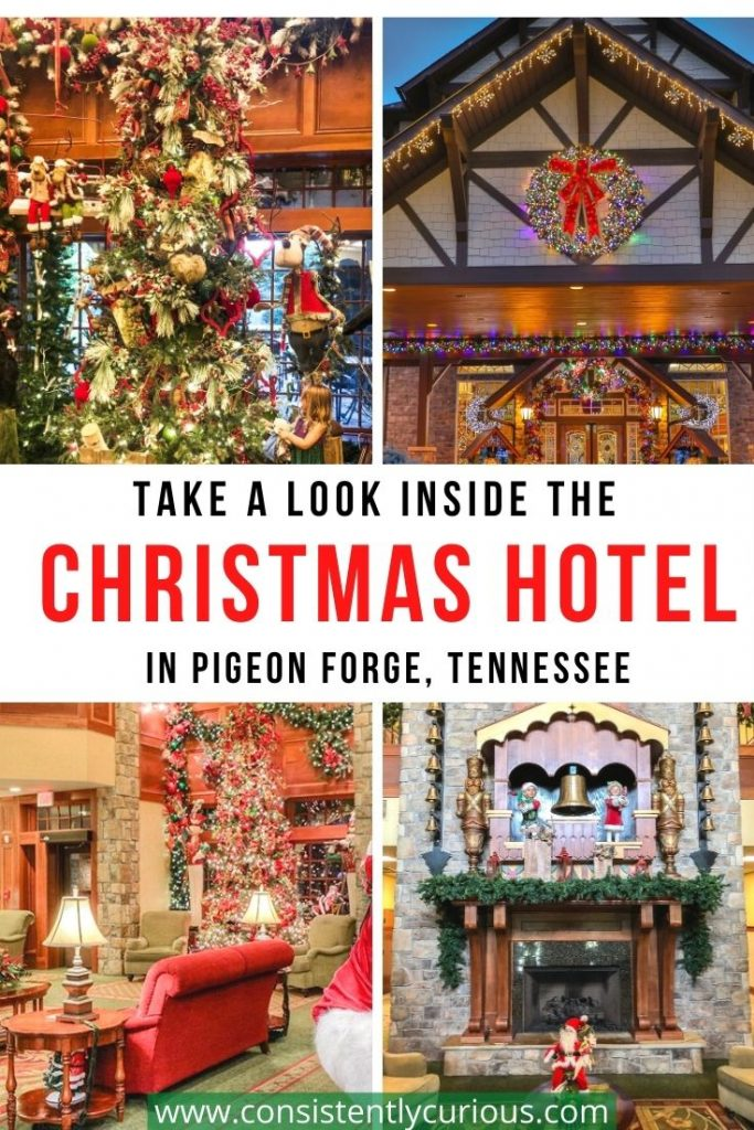 Christmas Hotel in Pigeon Forge Tennessee