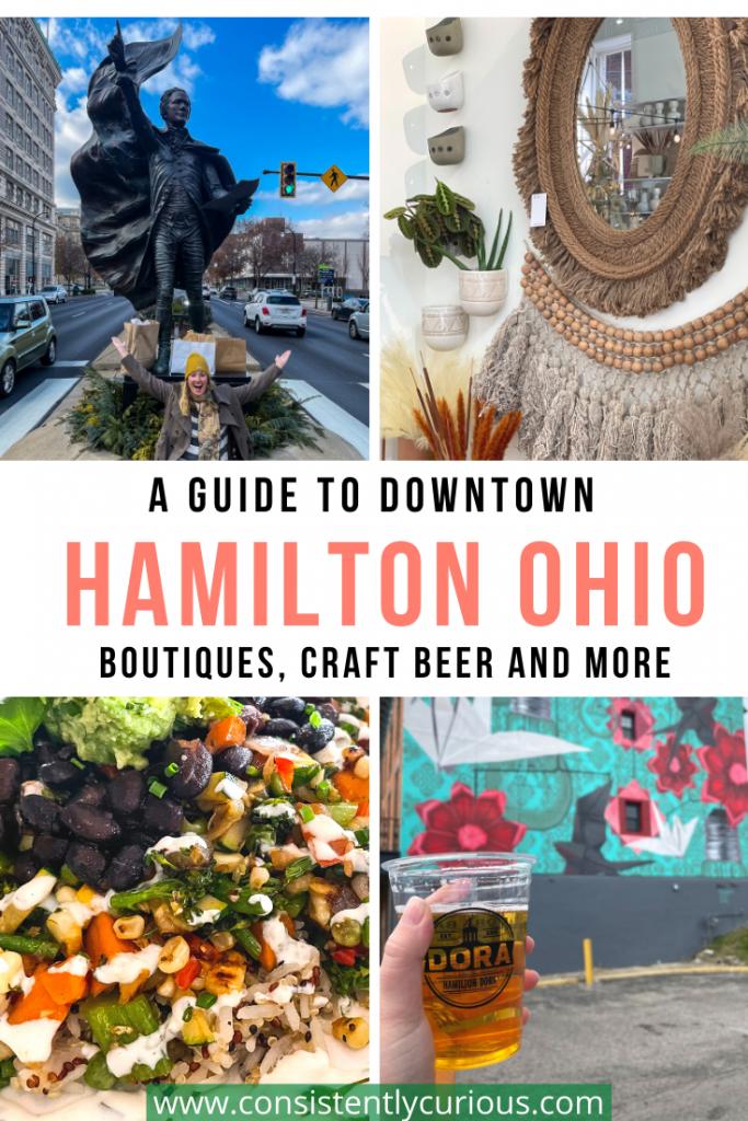 Downtown Hamilton Ohio