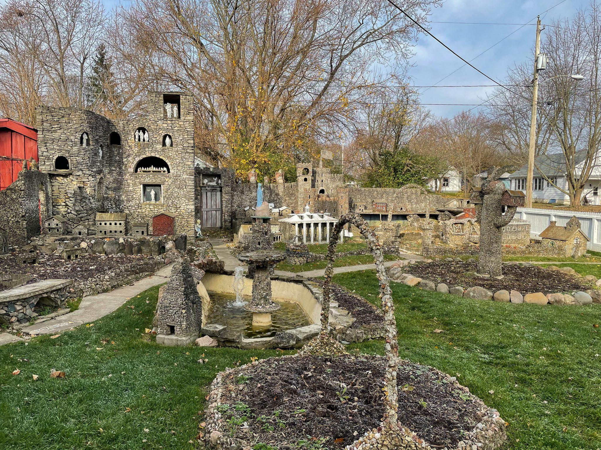Hartman Rock Garden In Springfield Ohio