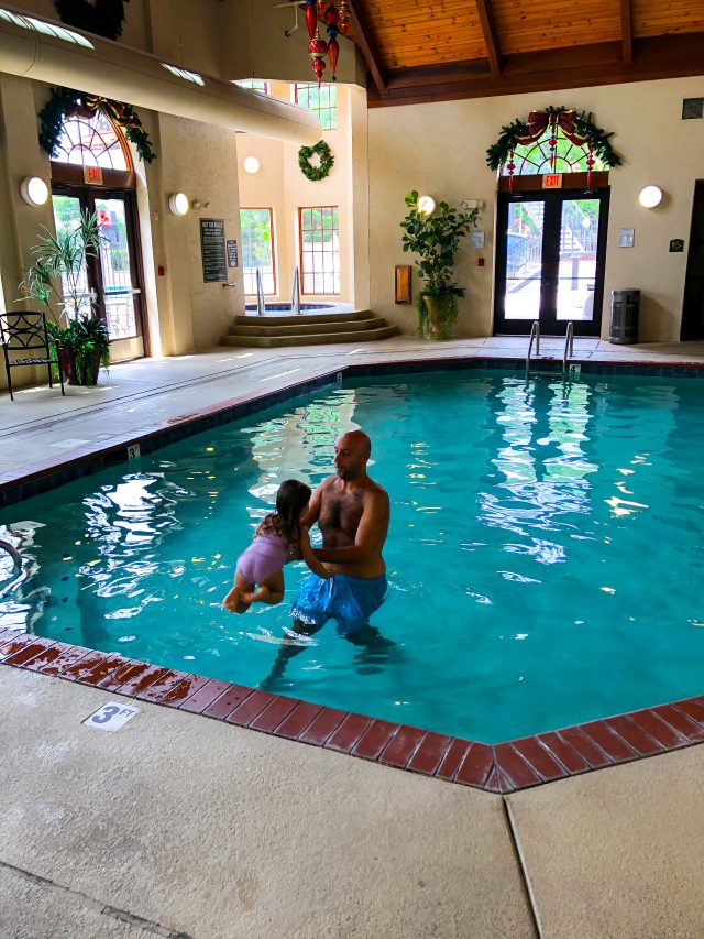Indoor Pool at Inn at Christmas Place