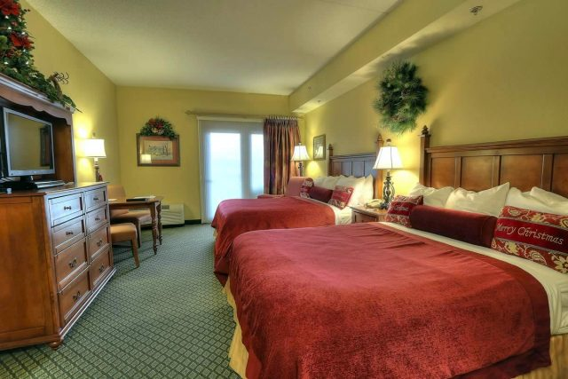 Double Room At Inn at Christmas Place