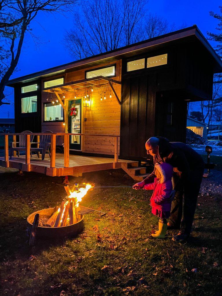 Tiny house rental in Hocking Hills Ohio