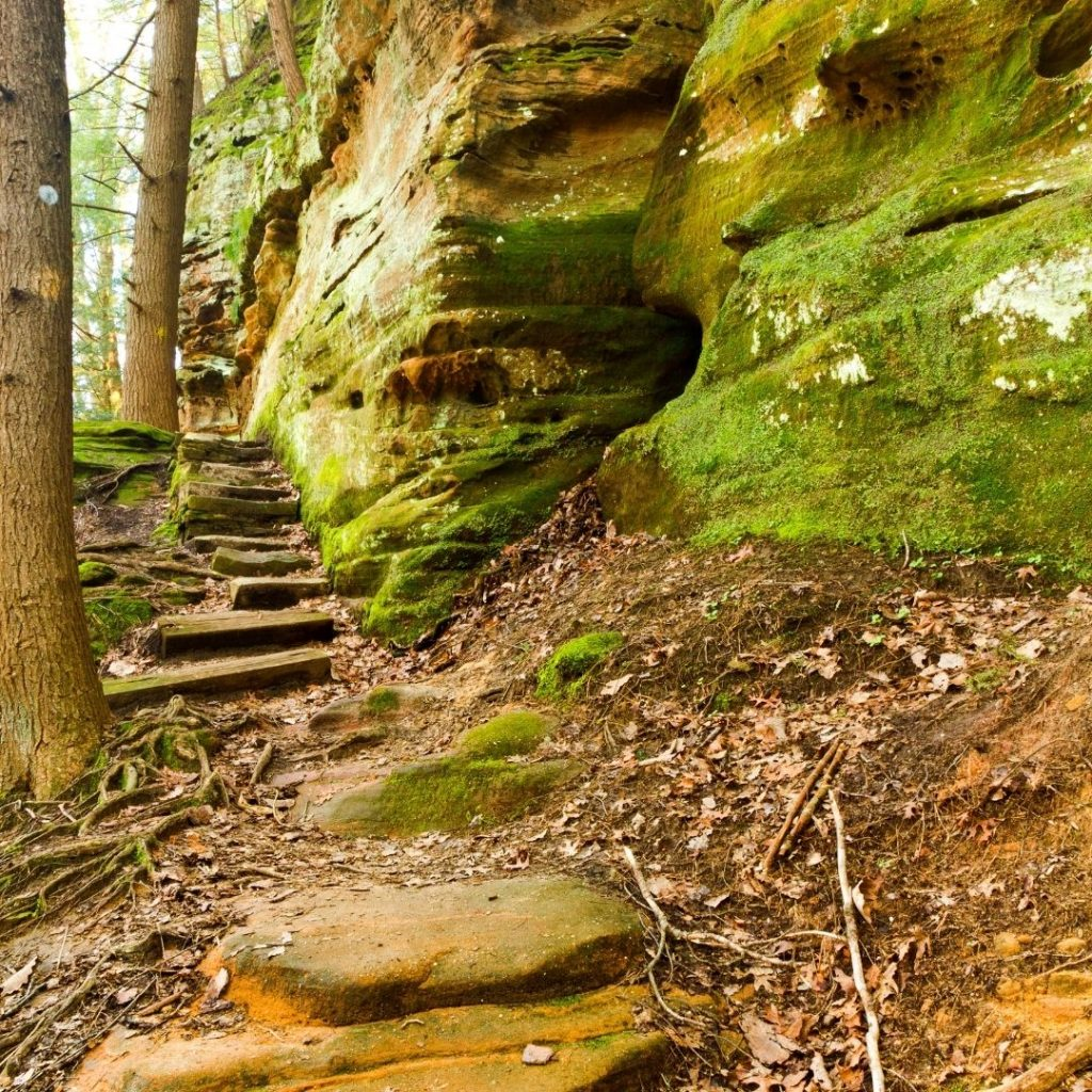 Caldwell Cliffs : Hiking In Hocking Hills