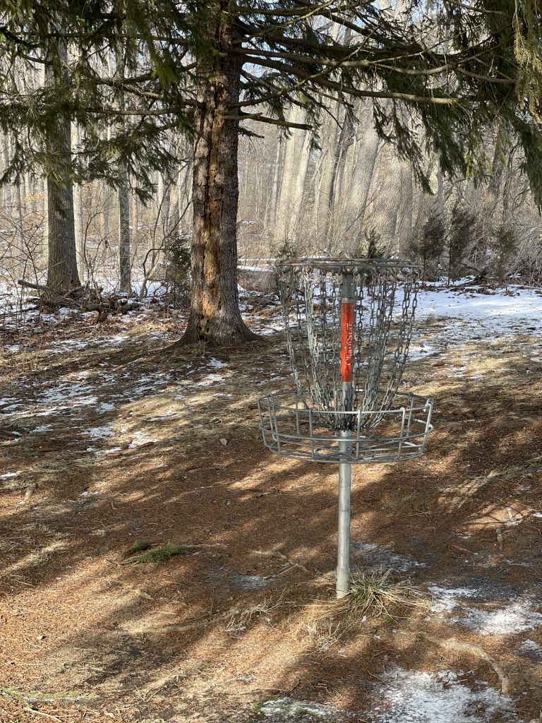 Disc Golf Course At Hueston Woods