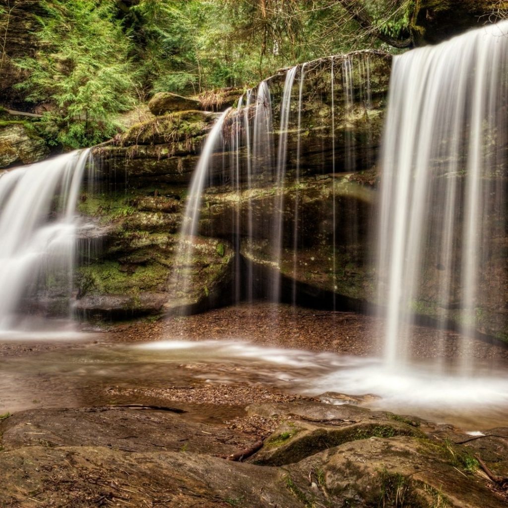 Hidden Falls : The Best Hiking Trails In Hocking Trails