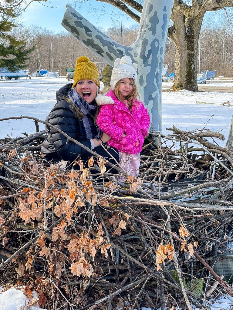 Eagles Nest Replica In Hueston Woods