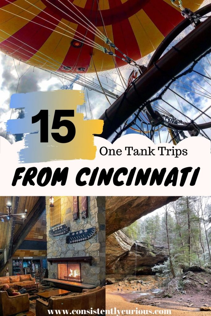 One Tank Trips From Cincinnati Ohio