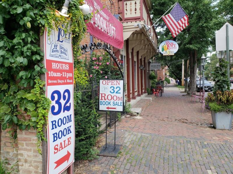 The Book Loft In German Village: Indoor Family Fun Things To In Columbus, Ohio