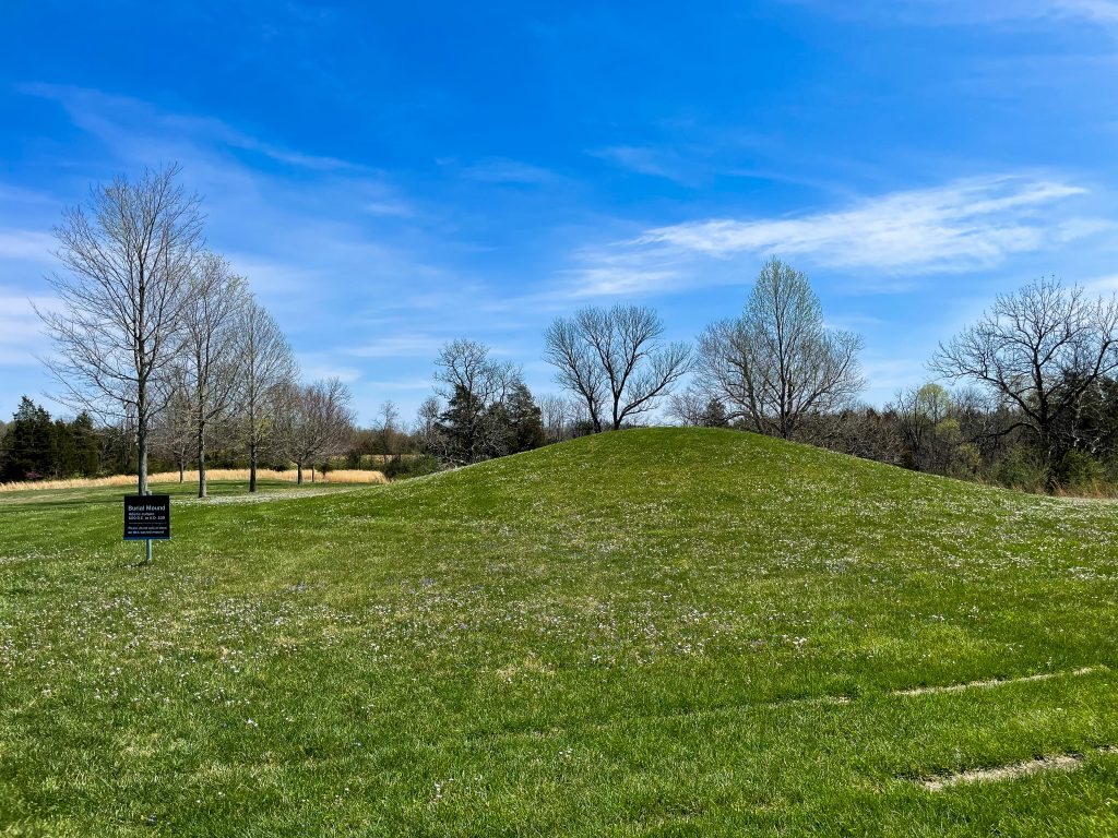 Ancient Burial Mound in Ohio