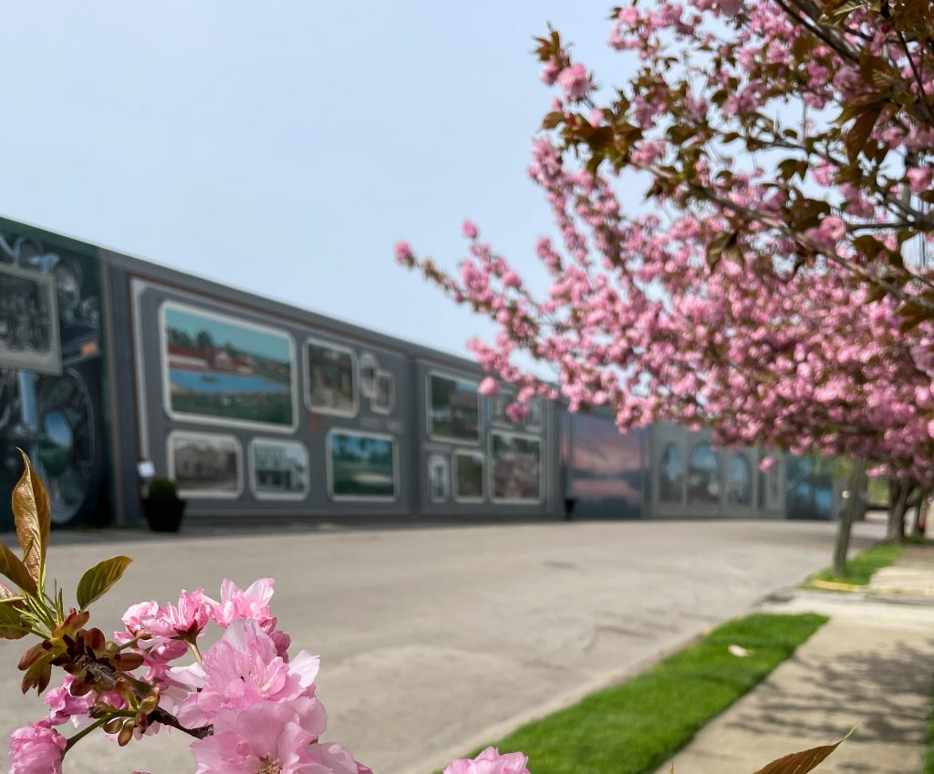 Portsmouth Ohio Floodwall Murals