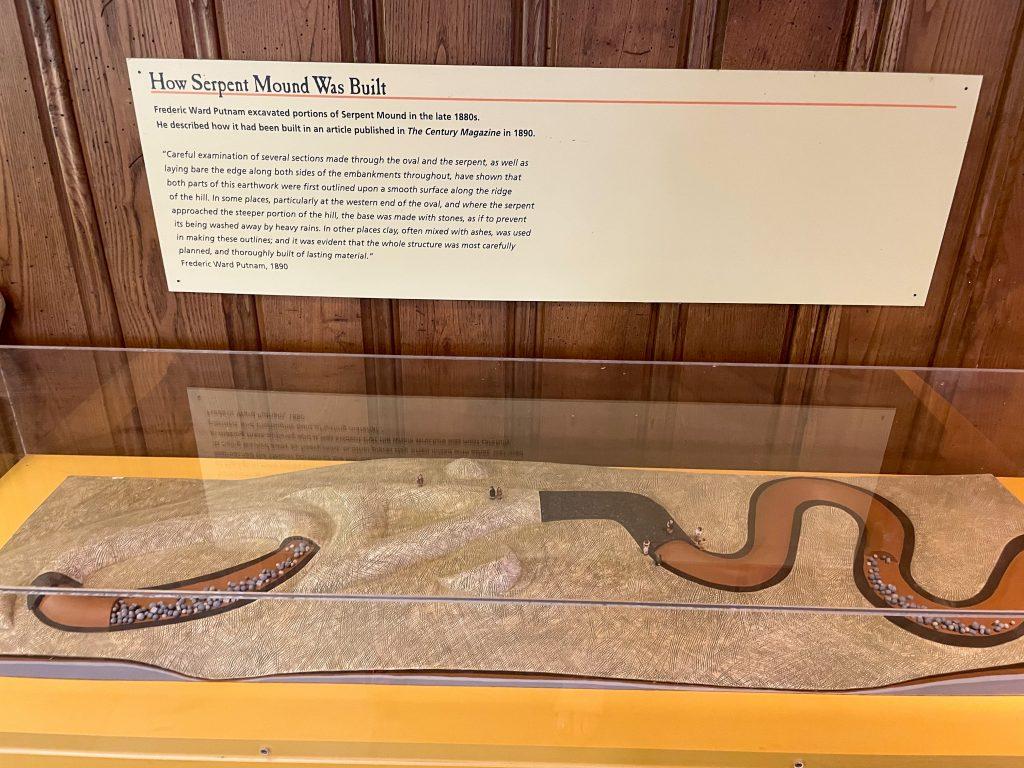 How Serpent Mound Was Built