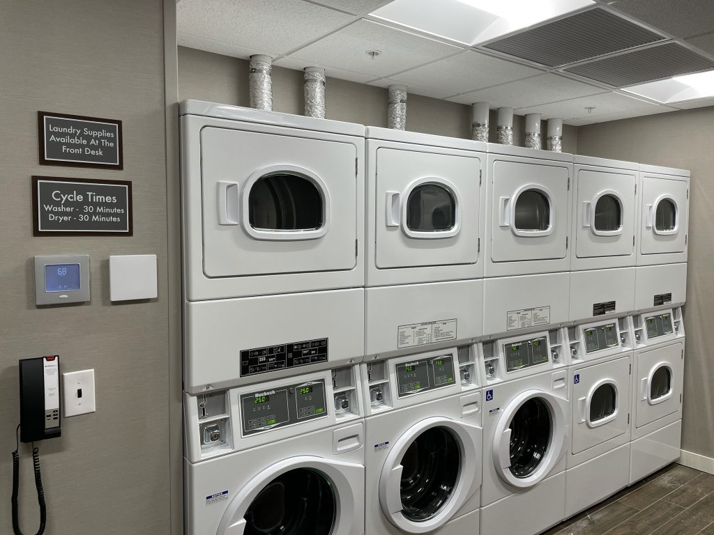 laundry at hotel in columbus ohio