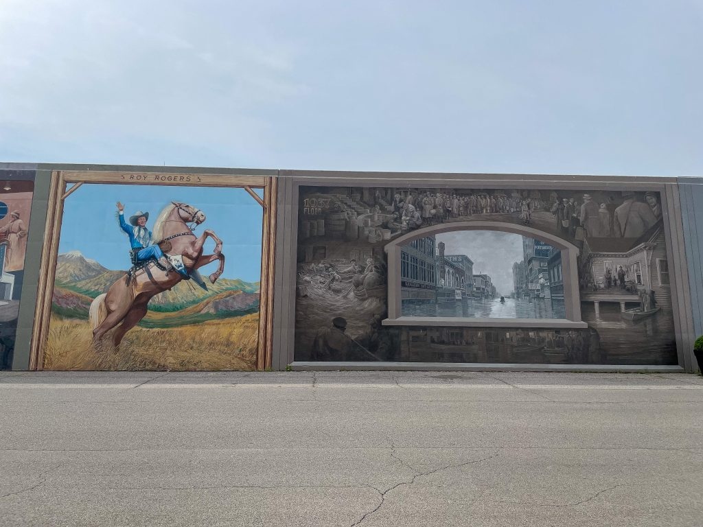 A Guide To Portsmouth Ohio Floodwall Murals