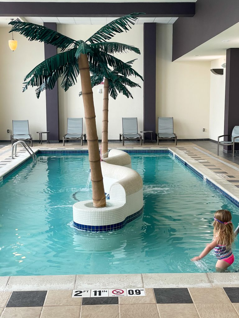 Bay City: DoubleTree Riverfront Indoor Pool