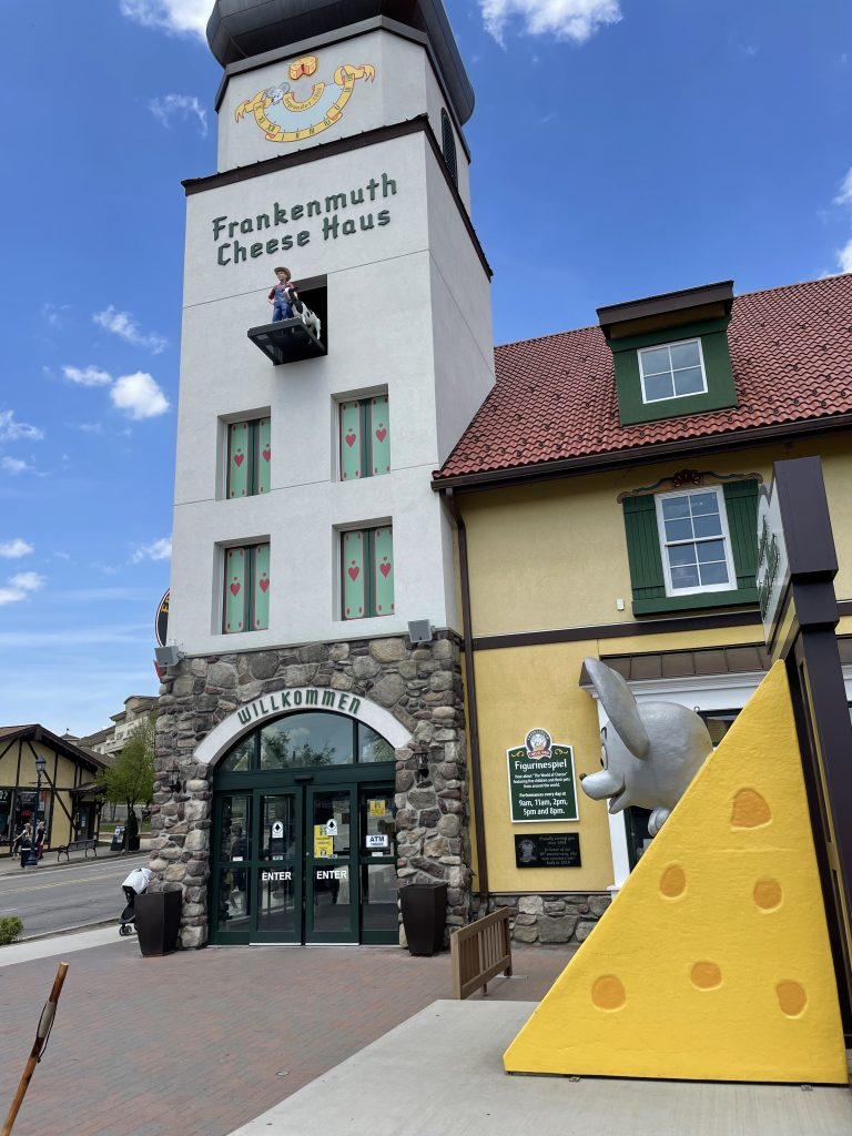Great Lakes Bay Region Michigan - Cheese Haus in Frankenmuth