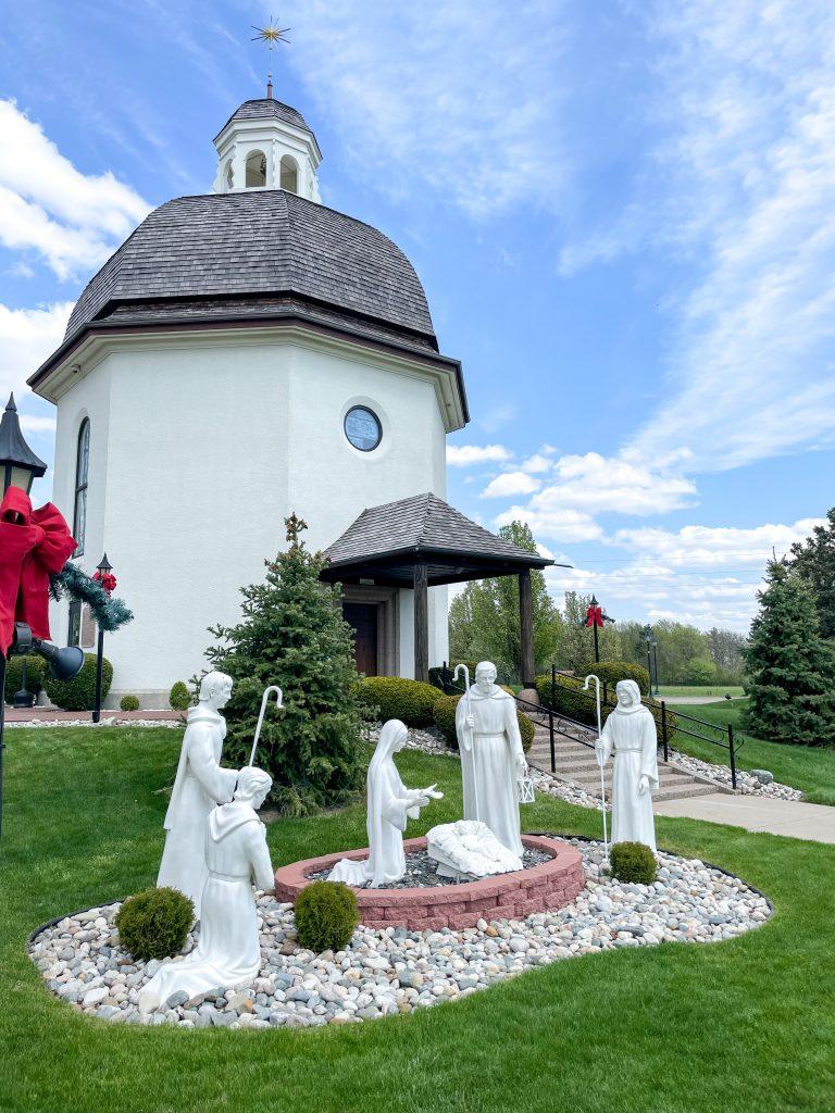 Silent Night Chapel In Frankenmuth Michigan