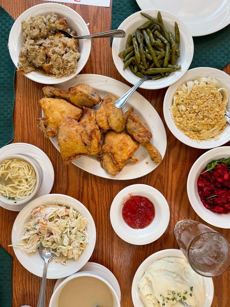 Famous Zehnder's Chicken Dinner