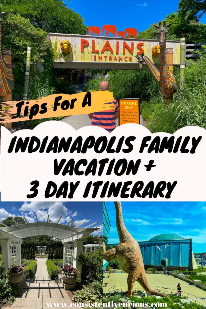 Indianapolis weekend getaway itinerary