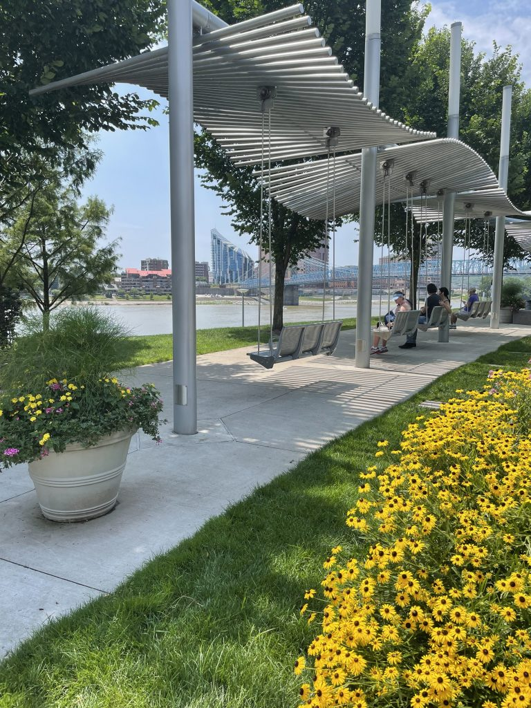Best Things To Do In Cincinnati with Kids: Smale Riverfront Park