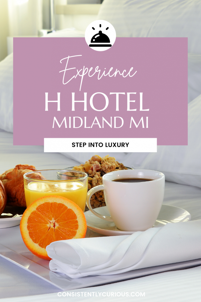 The H Hotel in Midland Michigan