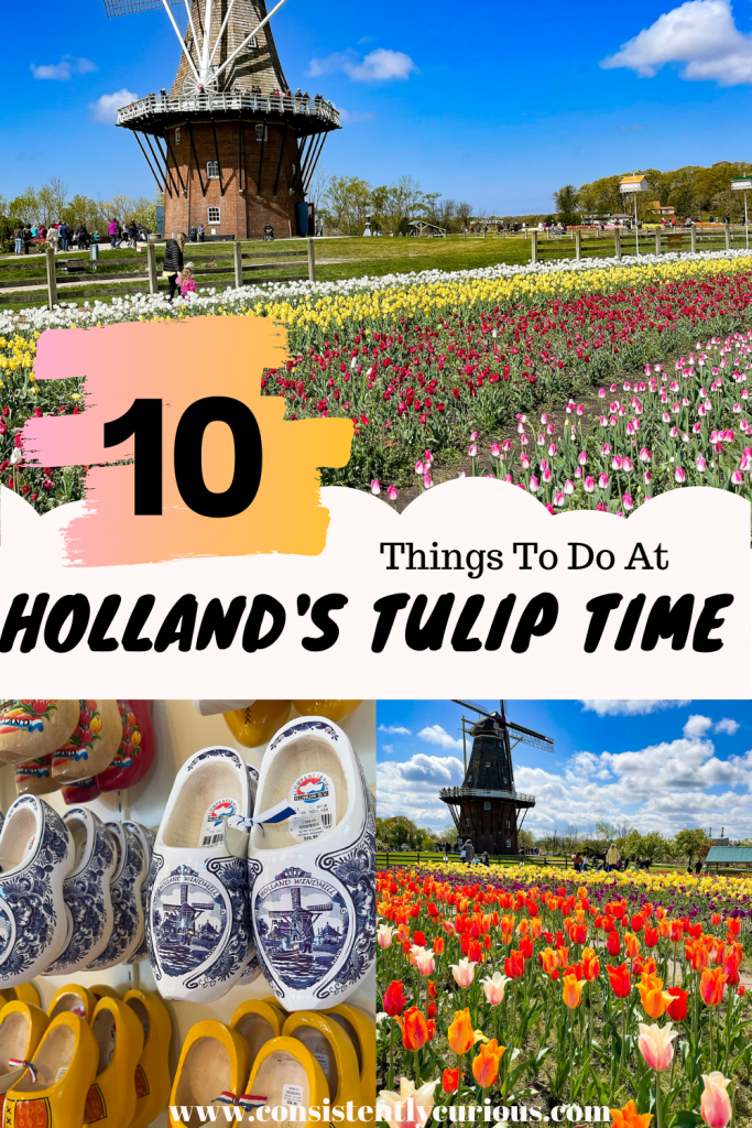 things to do at Holland's Tulip Time in Michigan