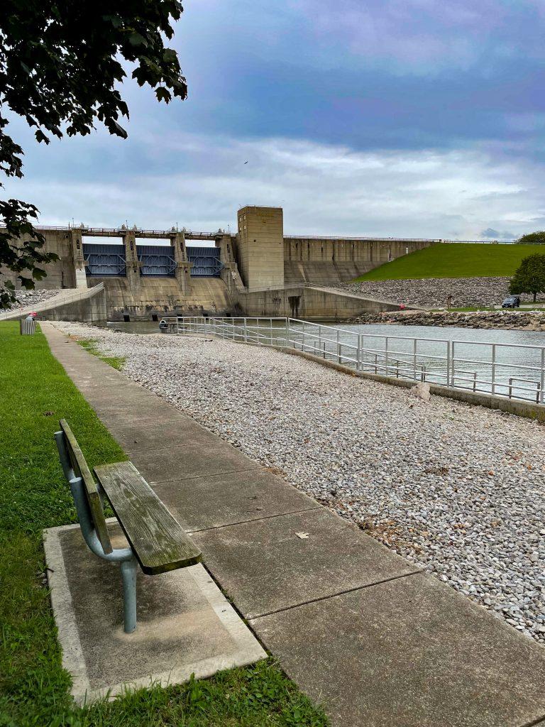 Dam at Deer Creek State Park