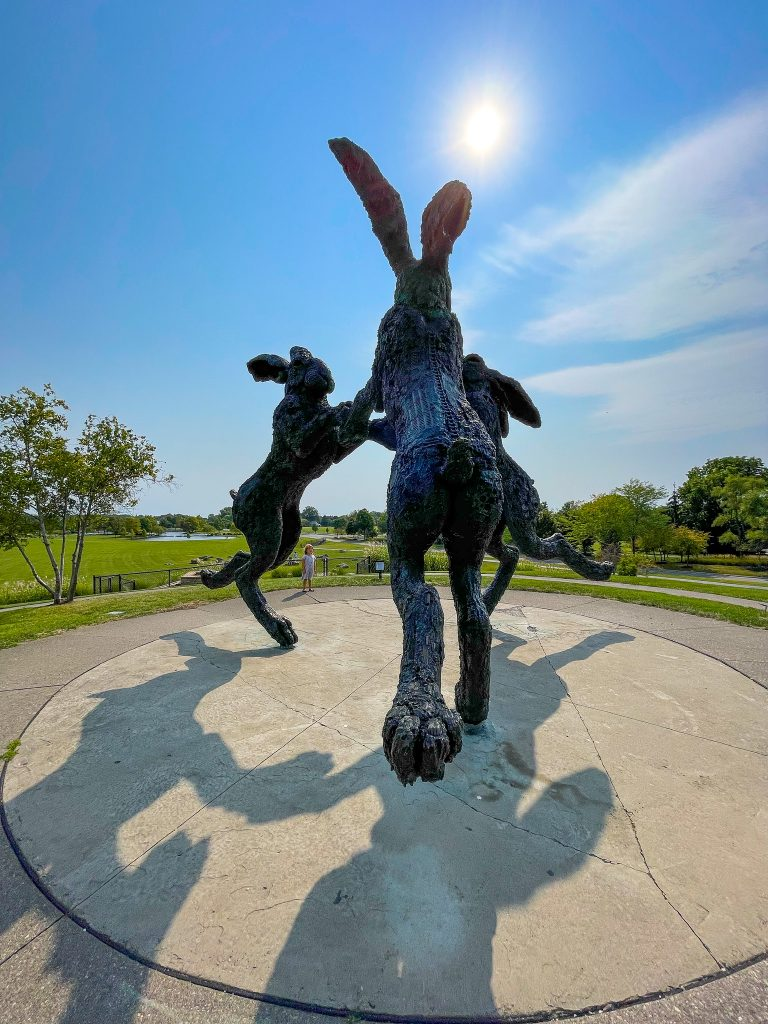 Dancing Hares: Things To Do In Dublin OH
