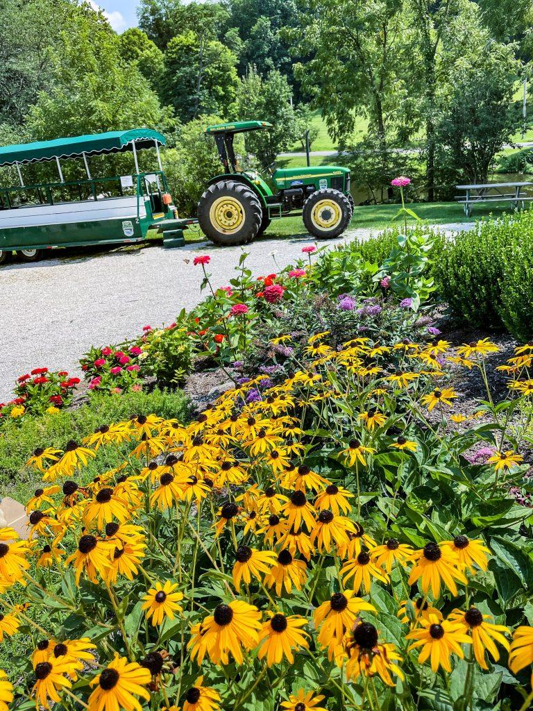 Wagon tours at Malabar Farm State Park