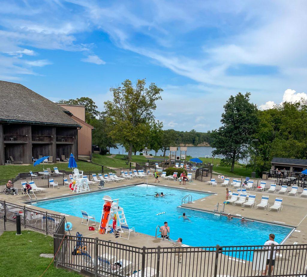 Outdoor Pool at Deer Creek Lodge