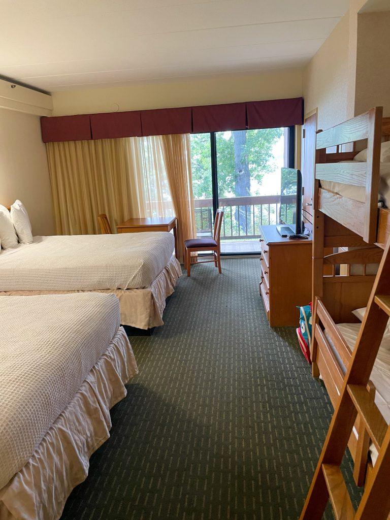 Bunk Bed Room at Deer Creek Lodge