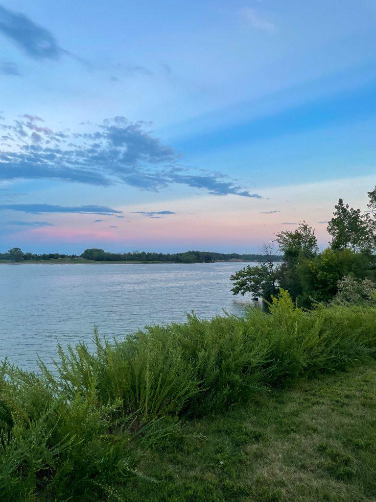 Deer Creek Lake sunset