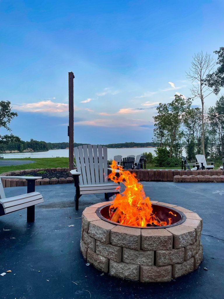 Fire Pit rentals at Deer Creek Lodge
