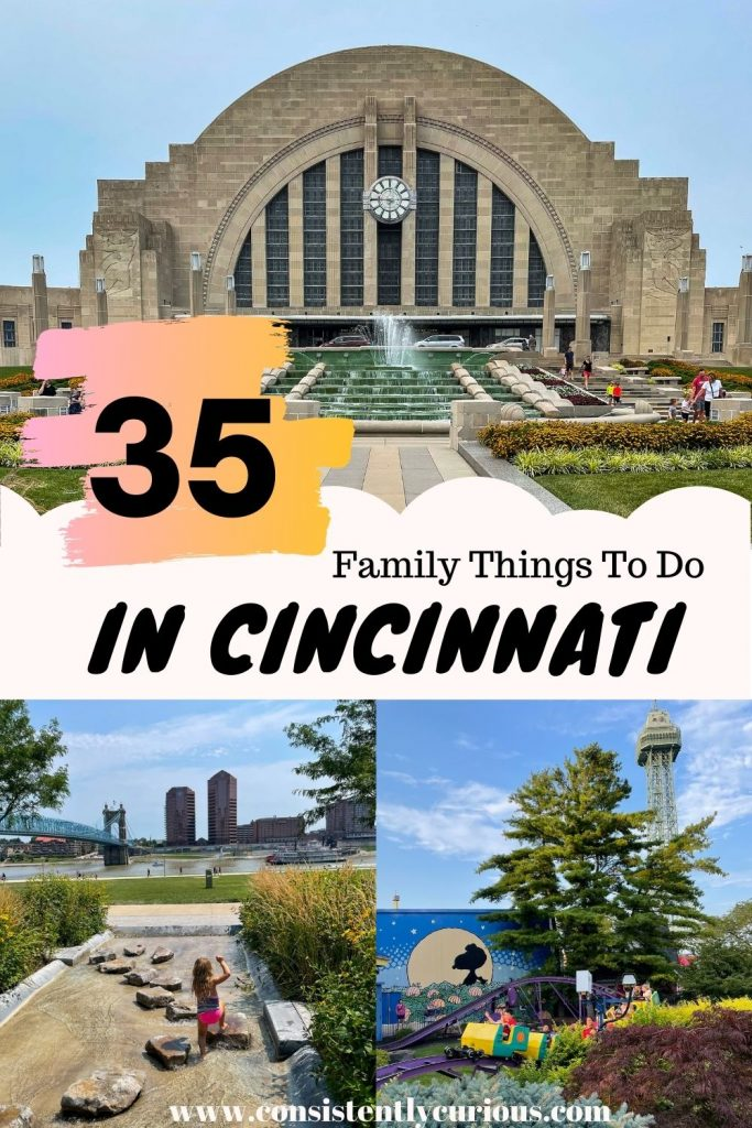 Top things to do with kids in Cincinnati Ohio